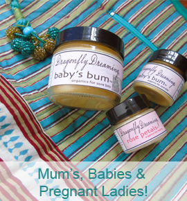 Mums and babies lotions