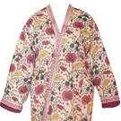 quilted kimono