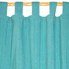 cotton turquoise curtains