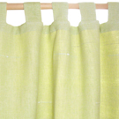 lime curtains