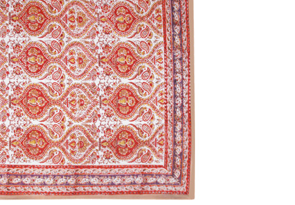 Printed Cotton Table Cloths By Chandni Chowk Hand Made In