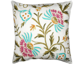 Crewel Work embroidered cushions