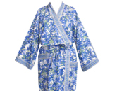 Printed cotton dressing gowns